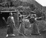 c. 1875 - Taking aim
