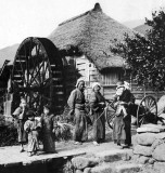 c. 1916 - At the mill