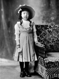 1910 - Princess Nagako (7 years old)