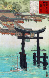 1896 - Itsukushima shrine