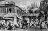 1843 - A street in Guangzhou-Thomas Allom