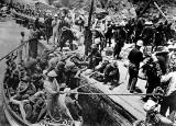 1898 - U.S. troops arriving in Baguiri, Cuba