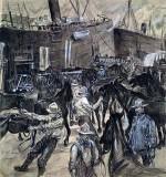 1898 - Loading horses at Tampa