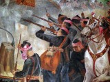c. 1600 - Soldiers of King Naresuan in battle with the Burmese