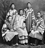 c. 1875 - Courtesans in Shanghai