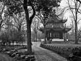Temple in a garden