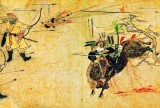 1293 - Mongol under attack during invasion of Japan