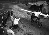 1915 - French priest blessing an airplane