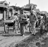 c. 1918 - Beggar with cane