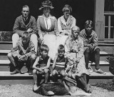 1920 - Franklin Roosevelt and family