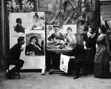 November 1910 - Ilya Repin reading of Tolstoy's death