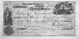 1868 - Check for $7,200,000 to pay Russia for the purchase of Alaska