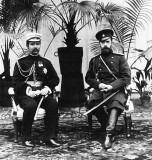 16 July 1897 - Nicholas hosting King Chulalongkorn of Thailand