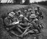 9 April 1918 - Drawing up battle plans