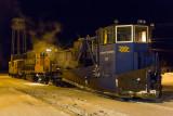 Spreader 529, GP38-2 1804 and caboose 124.