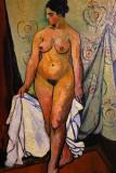 Peintures de Suzanne Valadon Maurice Utrillo et André Utter au musée de Montmartre