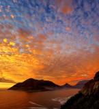 Sunset at Chapman's Peak