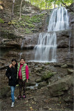 Daisy and Maria - Ancaster Mill Falls