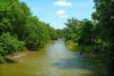 Summer, Humber River, Rowntree Mills Park, Toronto, Ontario