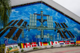Mural of the International Space Center