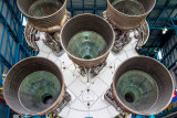 The business end of the Saturn 5