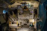 Inside the lunar module
