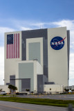 VAB.  The U.S. flag is 22 stories tall