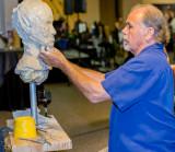 David Cumbie shows how to sculpt.