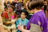 Minneola helping Anya to sell beads