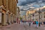 Moscow / MOCKBA in HDR