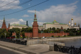 Behind the Kremlin Walls in Moscow