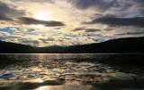 Sunrise from Loch carron