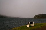 Shieldaig seat with a view