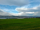 Looking over the Cromarty bridge