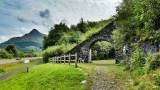 Slate arch