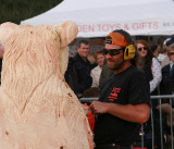 Josh Dagg  - Carve Carrbridge  2015 finishing touches