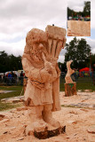 Wladyslaw Ligocki - Carve Carrbridge 2015 Half way with model