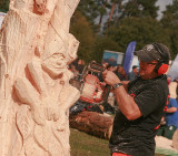 Iain Chalmers - Carve Carrbridge 2015 detail