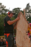 Iain Chalmers - Carve Carrbridge 2015 finishing touches