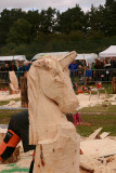 Nansi Hemming  - Carve Carrbridge 2015 Half Way