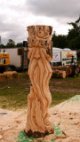Simon Archer   - Carve Carrbridge 2015 Half way