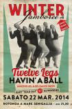 Winter Jamboree #8 - Twelve legs havin' a ball - 22/03/2014