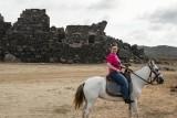 On Horseback At The Ruins