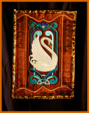 Art deco swan embroidery on silk shot in natural light,.jpg