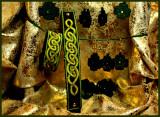 Shamrock Lace earings and Celtic bracelets.jpg