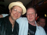 Taras, bass player for Dwight Yoakum, and Mark Kendrick