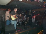 Steve Boulanger and his 'Boliecaster' jamming with Art Esparza on Sax,Dennis Galuzka on drums, and Jeff Moore on Bass
