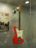 The first custom colored Fender guitar.