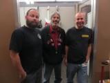 Paul Waller, Ralph Esposito and Scott Buehl