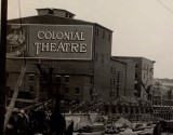 Rear of the Colonial Theatre